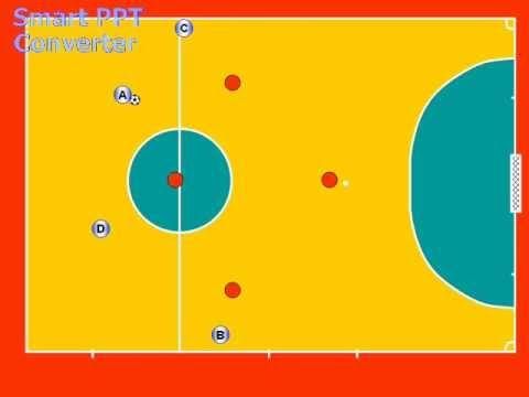 futsal movimento base rotazione
