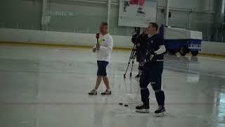 Кагарлицкий и Миронов играют в хоккейный баскетбол! И кто победил?