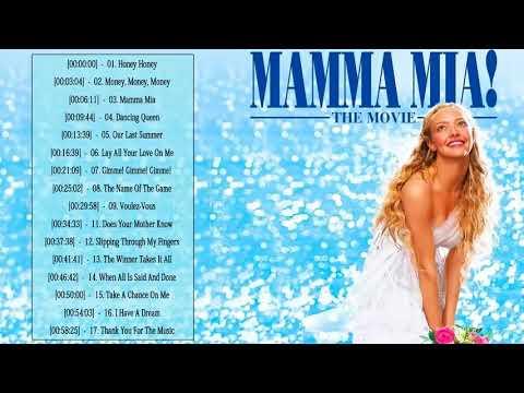 Mamma Mia Soundtrack ♡♡ Mamma Mia Soundtrack Playlist ♡♡ Mamma Mia Album Soundtrack Playlist 2019