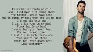 Maroon 5 - I Can't Lie | Lyrics Songs