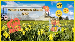 WHAT IS SPRING LIKE IN THE UK | Filipinos in the UK | How we spend our Day Off | Biglaang Gala 🍃