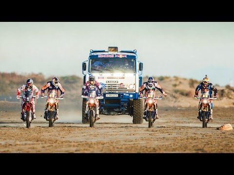 Red Bull Desert Wings Team Line-Up | Dakar 2015