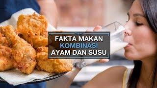 Minum Susu Setelah Makan Daging Ayam Dapat Sebabkan Keracunan, Benarkah?
