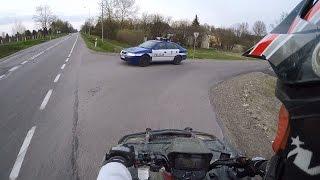 Suzuki Kingquad 700 4x4 Fast police getaway