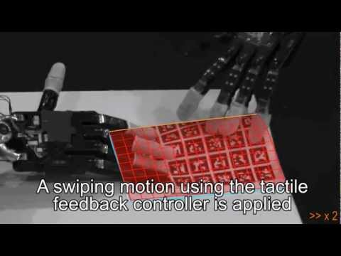 Folding Paper with Anthropomorphic Robot Hands using Real-Time Physics-Based Modeling