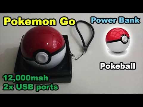 Pokemon Go Power Bank 12,000mah USB portable charger MB204