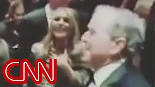 Watch George W. Bush bust a move at wedding