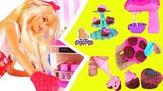 БАРБИ против МАЙ ТОЙС ПИНК ЧЕЛЛЕНДЖ! #Barbie VS My Toys Pink FOOD CHALLENGE! Сладости Своими Руками