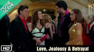Love, Jealousy & Betrayal - Movie Scene - Kabhi Alvida Naa Kehna - Shahrukh Khan, Rani Mukherjee