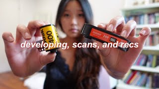how i get my film developed and scanned | 35mm + 110 film