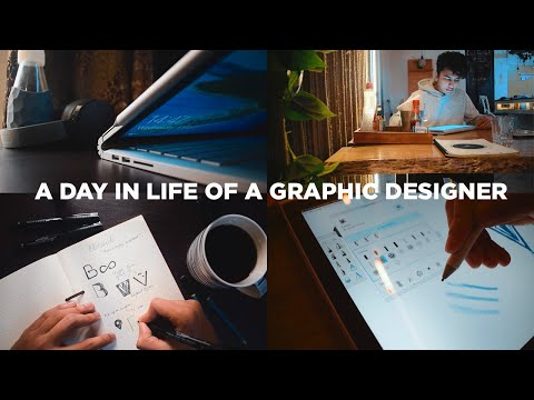 a day in the life of a graphic designer by shantanu kumar