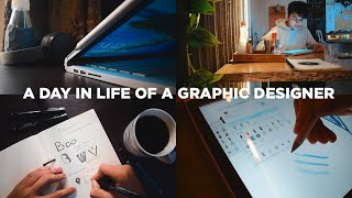 A Day In Life Of A Graphic Designer.
