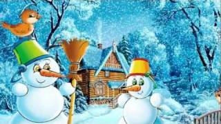 Тихо, тихо пада сняг - детска песничка