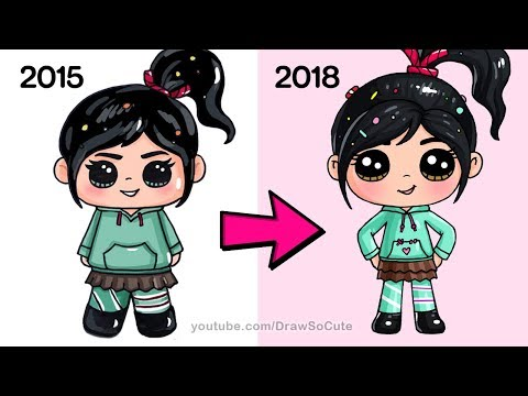 Download How To Draw Vanellope From Disney S Wreck It Ralph