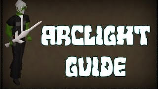 HOW TO GET THE ARCLIGHT - Oldschool RuneScape