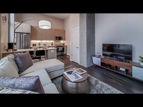 A furnished West Loop one-bedroom at the new amenity-rich Milieu