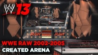 wwe-13-sdh-creations-wwe-raw-2002-2005-arena