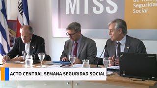 Acto Central Semana De La Seguridad Social