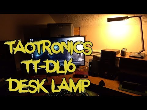 TaoTronics TT-DL16 Desk Lamp Review