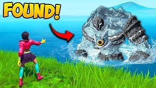 *NEW* POLAR PEAK MONSTER SPOTTED!!   Fortnite Funny Fails And WTF Moments! #584