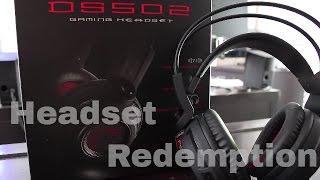 MSI DS502 USB Connector Circumaural Gaming Headset Review