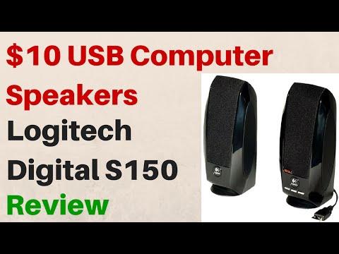 $10 Logitech USB Stereo Speakers – S150 – Review