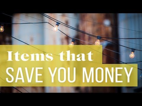15 Things We've Bought That Actually Save Us Money