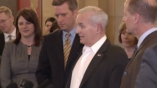 MN Governor, Republicans Agree To Special Session On Budget - Full News Conference