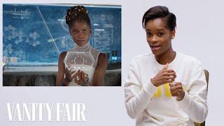 Black Panther's Letitia Wright Breaks Down Wakandan Technology | Vanity Fair - Video Youtube