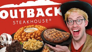 Keith Eats Everything At Outback Steakhouse