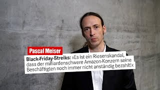 """Pascal Meiser, Die Linke: """"Volle Unterstützung für die streikenden Beschäftigten bei Amazon!"""""""