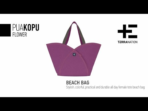 With the Pua Kopu beach bag by Terra Nation you are ready for summer!