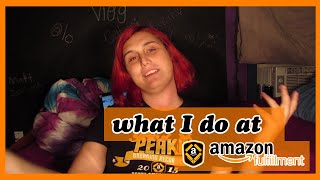 What I Do At Amazon!