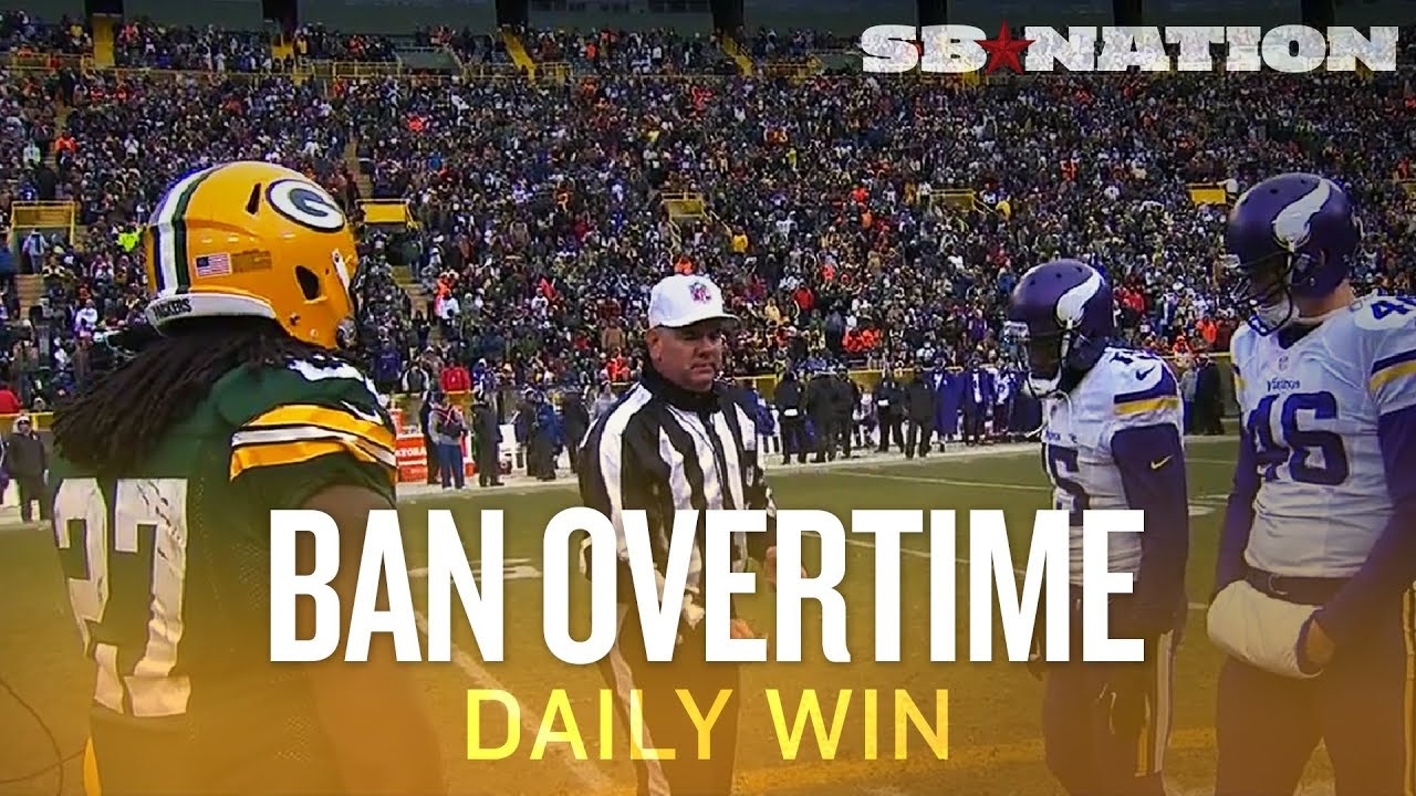 Get rid of regular-season overtime, and welcome ties into your heart - The Daily Win thumbnail