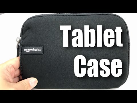 AmazonBasics 7-Inch Tablet Sleeve Review
