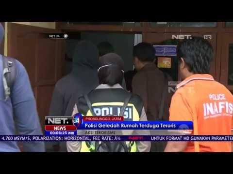 Polisi Geledah Rumah Terduga Teroris di Probolinggo - NET 24