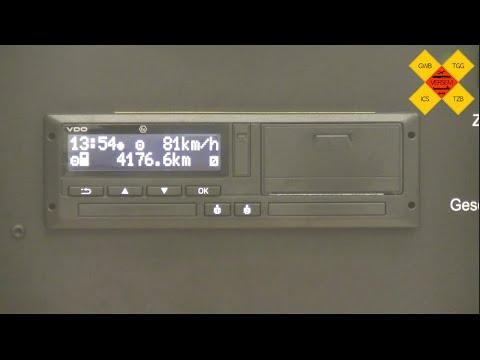 Nachtäge & Grundlegende Einstellungen am digitalen Tachographen