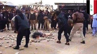 Боевики ИГИЛ забили камнями мужчину и женщину за внебрачный секс