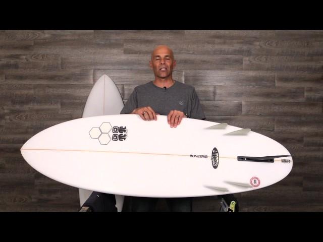 "Channel Islands ""Biscuit Bonzer"" Surfboard review by Noel Salas Ep 22"
