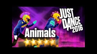 Just Dance 2016   Animals   5 stars