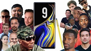 The TRUTH About the Galaxy Note 9: YouTubers REACT!