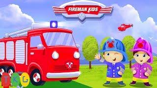 Xe Cứu Hỏa - FireMan Kids (Lính Cứu Hỏa tí hon) | TopKidsGames (TKG)