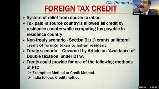 Recording – NRI Taxation
