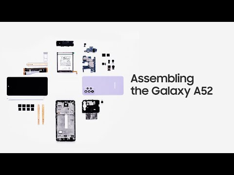 Samsung assembles Galaxy A52 and explains its features in new videos