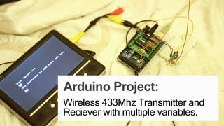 RF 433MHz Transmitter/Receiver Module With Arduino