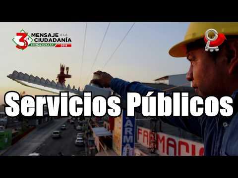 3er Mensaje a la Ciudadanía Servicios Públicos