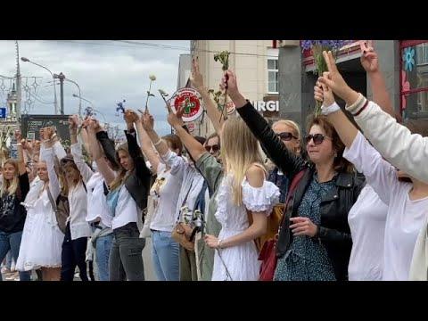 Λευκορωσία: Δυναμώνει το γυναικείο κίνημα