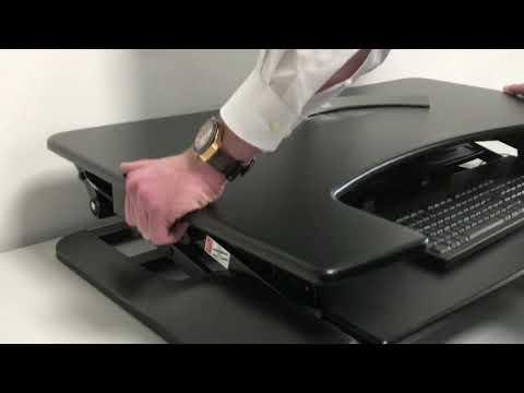 ROLINE Höhenverstellbarer Schreibtischaufsatz