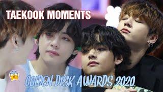 taekook moments at GDA 2020