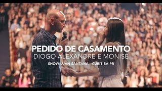 Luan Santana   Pedido De Casamento De Fã Durante Show